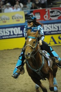 Fallon Taylor Makes A Safety Statement In Barrel Racing