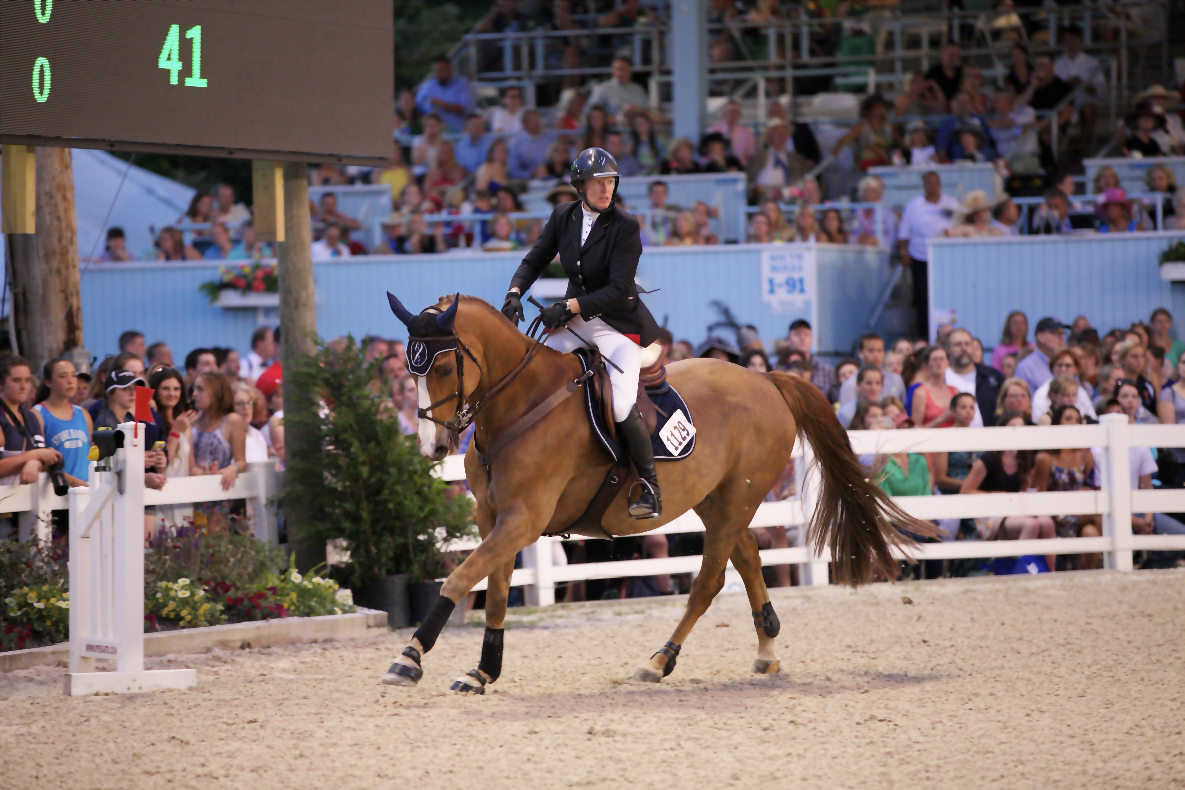Young Rider Kelli Cruciotti Wins 2015 Devon Grand Prix